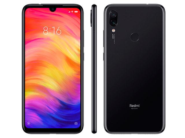 Смартфон Xiaomi Redmi Note 7 (черный, 3Gb RAM, 32Gb ROM, 6.3