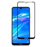 Защитное стекло Yotrix 3D Pro Glass Protector для Huawei Y7 2019 (черное)