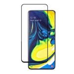 Защитное стекло Yotrix 3D Pro Glass Protector для Samsung Galaxy A80 (черное)
