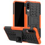 Чехол Yotrix Shockproof case для Samsung Galaxy A70 (оранжевый, пластиковый)