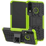 Чехол Yotrix Shockproof case для Huawei P30 lite (зеленый, пластиковый)