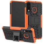 Чехол Yotrix Shockproof case для Huawei P30 lite (оранжевый, пластиковый)
