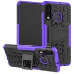 Чехол Yotrix Shockproof case для Huawei P30 lite (фиолетовый, пластиковый)