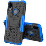 Чехол Yotrix Shockproof case для Xiaomi Redmi Note 7 (синий, пластиковый)