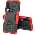 Чехол Yotrix Shockproof case для Xiaomi Mi 9 (красный, пластиковый)