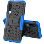 Чехол Yotrix Shockproof case для Xiaomi Mi 9 (синий, пластиковый)