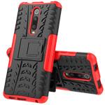 Чехол Yotrix Shockproof case для Xiaomi Mi 9T (красный, пластиковый)