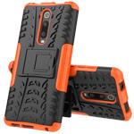 Чехол Yotrix Shockproof case для Xiaomi Mi 9T (оранжевый, пластиковый)