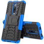 Чехол Yotrix Shockproof case для Xiaomi Mi 9T (синий, пластиковый)