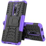 Чехол Yotrix Shockproof case для Xiaomi Mi 9T (фиолетовый, пластиковый)