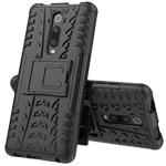 Чехол Yotrix Shockproof case для Xiaomi Mi 9T (черный, пластиковый)