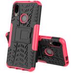 Чехол Yotrix Shockproof case для Xiaomi Redmi 7 (розовый, пластиковый)