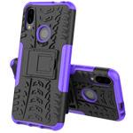 Чехол Yotrix Shockproof case для Xiaomi Redmi 7 (фиолетовый, пластиковый)