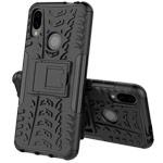 Чехол Yotrix Shockproof case для Xiaomi Redmi 7 (черный, пластиковый)