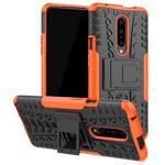 Чехол Yotrix Shockproof case для OnePlus 7 pro (оранжевый, пластиковый)