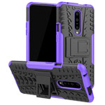 Чехол Yotrix Shockproof case для OnePlus 7 pro (фиолетовый, пластиковый)