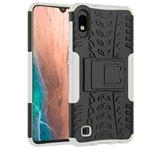 Чехол Yotrix Shockproof case для Samsung Galaxy A10 (белый, пластиковый)