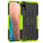 Чехол Yotrix Shockproof case для Samsung Galaxy A10 (зеленый, пластиковый)