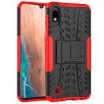 Чехол Yotrix Shockproof case для Samsung Galaxy A10 (красный, пластиковый)