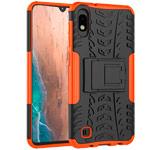 Чехол Yotrix Shockproof case для Samsung Galaxy A10 (оранжевый, пластиковый)