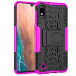 Чехол Yotrix Shockproof case для Samsung Galaxy A10 (розовый, пластиковый)