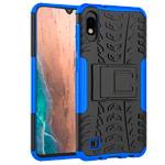 Чехол Yotrix Shockproof case для Samsung Galaxy A10 (синий, пластиковый)