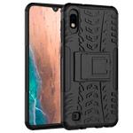 Чехол Yotrix Shockproof case для Samsung Galaxy A10 (черный, пластиковый)