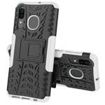 Чехол Yotrix Shockproof case для Samsung Galaxy A40 (белый, пластиковый)