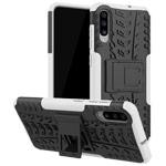 Чехол Yotrix Shockproof case для Samsung Galaxy A70 (белый, пластиковый)
