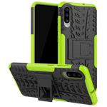 Чехол Yotrix Shockproof case для Samsung Galaxy A70 (зеленый, пластиковый)