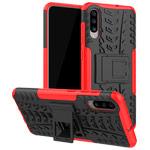 Чехол Yotrix Shockproof case для Samsung Galaxy A70 (красный, пластиковый)