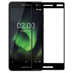 Защитное стекло Yotrix 3D Pro Glass Protector для Nokia 2.1 (черное)