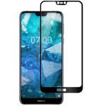Защитное стекло Yotrix 3D Pro Glass Protector для Nokia 7.1 plus (черное)