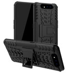 Чехол Yotrix Shockproof case для Samsung Galaxy A80 (черный, пластиковый)
