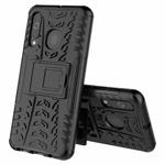 Чехол Yotrix Shockproof case для Samsung Galaxy A60 (черный, пластиковый)