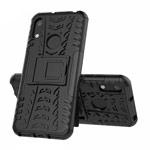 Чехол Yotrix Shockproof case для Huawei Y6 2019 (черный, гелевый)