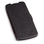 Чехол Nillkin Side leather case для HTC Desire 500 506e (черный, кожанный)