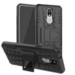 Чехол Yotrix Shockproof case для LG K40 (черный, пластиковый)