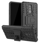 Чехол Yotrix Shockproof case для LG Stylo 5 (черный, пластиковый)