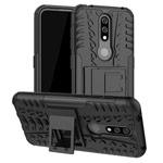 Чехол Yotrix Shockproof case для Nokia 4.2 (черный, гелевый)