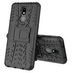 Чехол Yotrix Shockproof case для Nokia 3.2 (черный, гелевый)