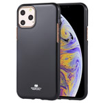 Чехол Mercury Goospery Jelly Case для Apple iPhone 11 pro (черный, гелевый)