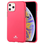 Чехол Mercury Goospery Jelly Case для Apple iPhone 11 pro (малиновый, гелевый)