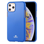 Чехол Mercury Goospery Jelly Case для Apple iPhone 11 pro (синий, гелевый)