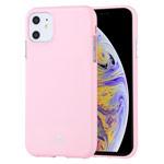Чехол Mercury Goospery Jelly Case для Apple iPhone 11 (розовый, гелевый)