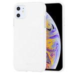 Чехол Mercury Goospery Jelly Case для Apple iPhone 11 (белый, гелевый)