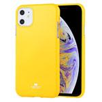 Чехол Mercury Goospery Jelly Case для Apple iPhone 11 (желтый, гелевый)