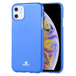 Чехол Mercury Goospery Jelly Case для Apple iPhone 11 (синий, гелевый)