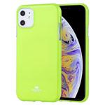 Чехол Mercury Goospery Jelly Case для Apple iPhone 11 (зеленый, гелевый)