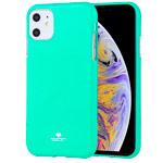 Чехол Mercury Goospery Jelly Case для Apple iPhone 11 (бирюзовый, гелевый)